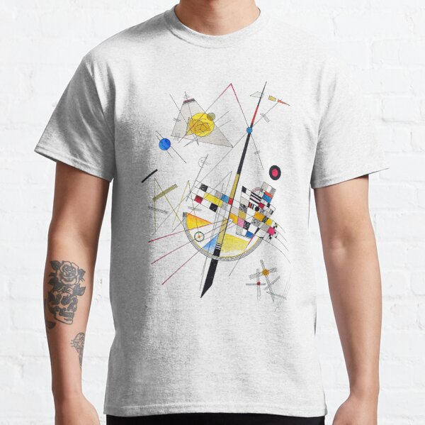 """HD """"Delicate Tension"""" (1923) by Wassily Kandinsky Classic T-Shirt"""