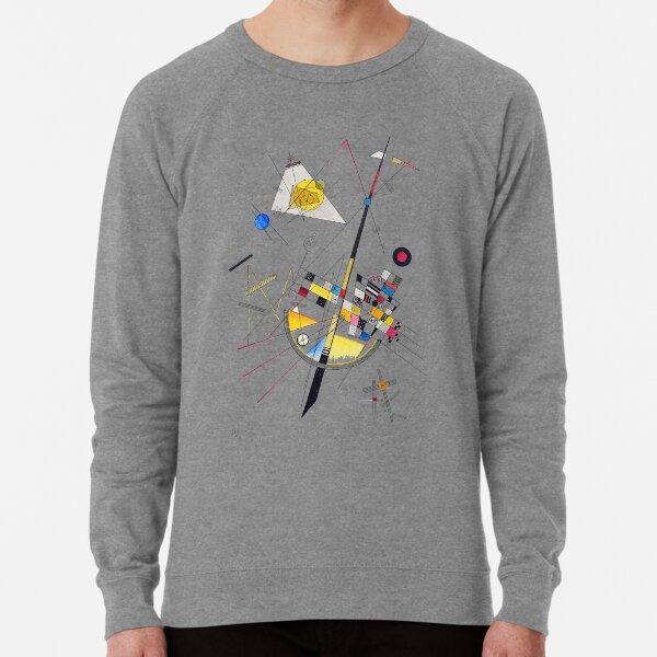 "HD ""Delicate Tension"" (1923) by Wassily Kandinsky Lightweight Sweatshirt"