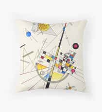 """HD """"Delicate Tension"""" (1923) by Wassily Kandinsky Floor Pillow"""