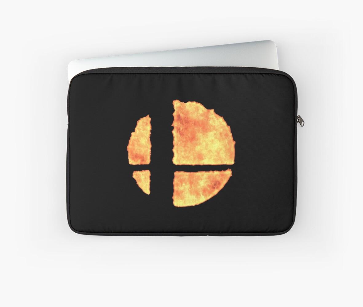 smash ball emblem fire design super smash bros 5 for nintendo