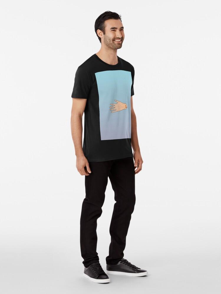 Alternate view of The Slippery Handshake Premium T-Shirt