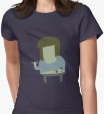 Muscle Man | Regular Show Women's Fitted T-Shirt
