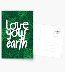 Love your Earth Postcards