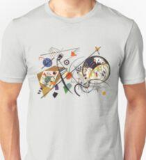 "HD ""Transverse Lines"" (1923) by Wassily Kandinsky Unisex T-Shirt"
