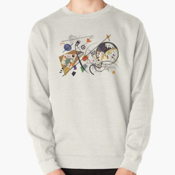 "HD ""Transverse Lines"" (1923) by Wassily Kandinsky Pullover Sweatshirt"