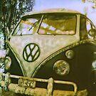 VW Van ©2002 W.Cook by wendy cook