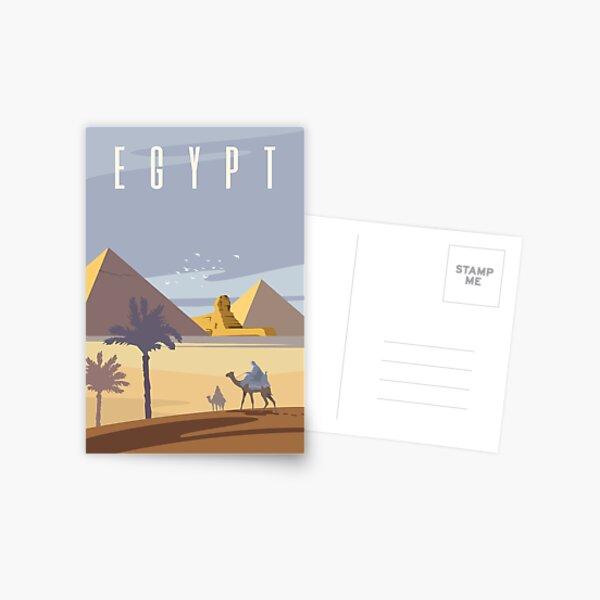 Ancient Egyptian Pyramids Postcard