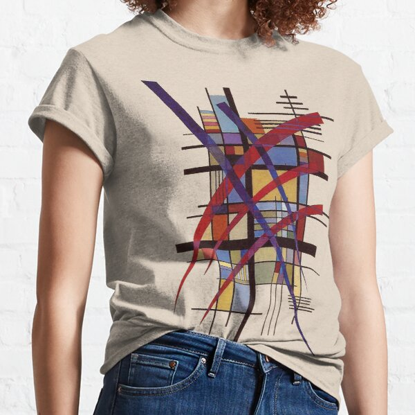 """HD """"Sign with Accompaniment"""" (1927) by Wassily Kandinsky Classic T-Shirt"""