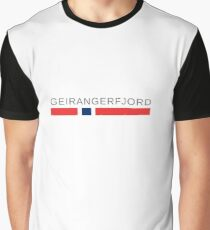 The Geirangerfjord   Norway Graphic T-Shirt
