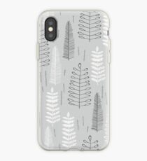 Ferns on a Rainy Day iPhone Case