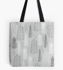 Ferns on a Rainy Day Tote Bag