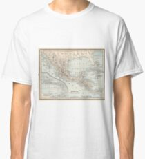 Vintage Map of Mexico (1893) Classic T-Shirt