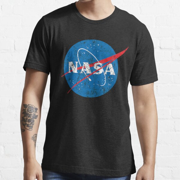 Vintage Distressed NASA Logo Essential T-Shirt