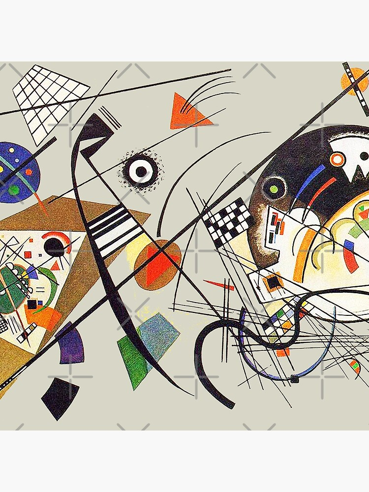 """HD """"Transverse Line"""" (1923) by Wassily Kandinsky by mindthecherry"""