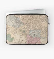 Vintage Map of Cambridge Massachusetts (1891) Laptop Sleeve