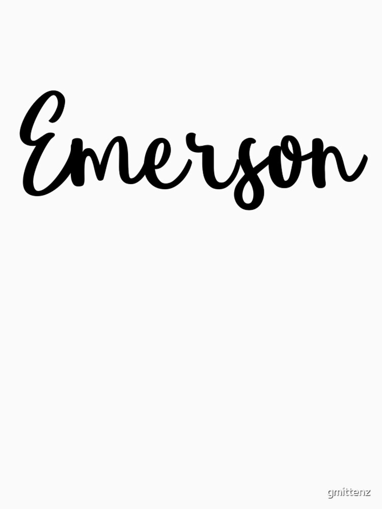 Emerson by gmittenz
