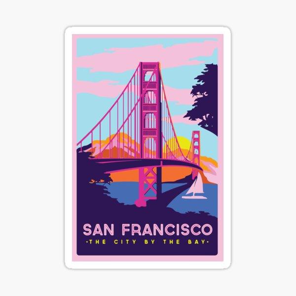 San Francisco Pegatina