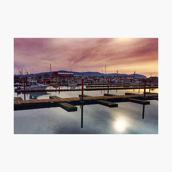 Harbor Mood Photographic Print