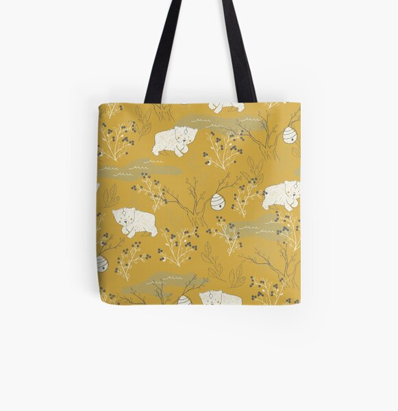 Foraging All Over Print Tote Bag
