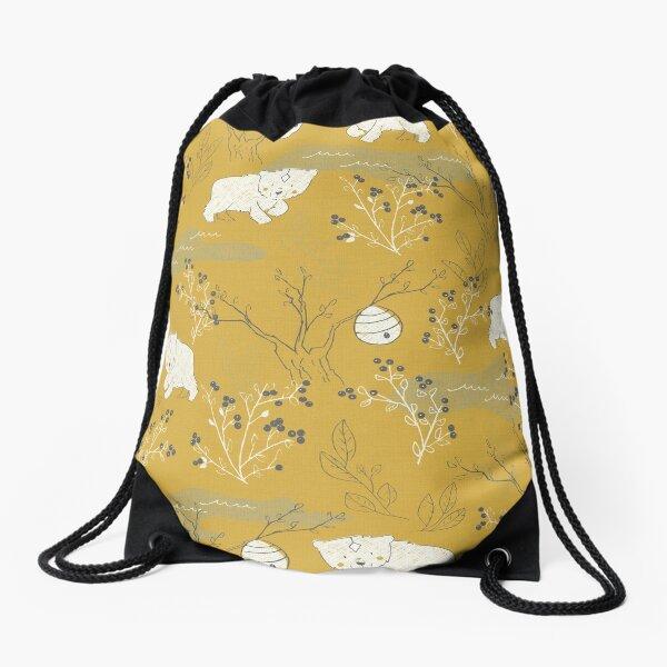 Foraging Drawstring Bag