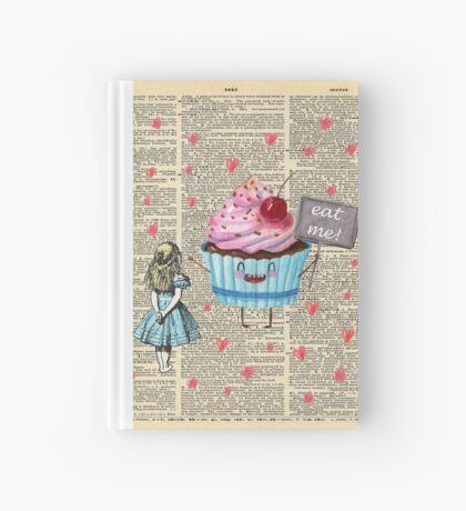 Alicia en el país de las maravillas - Eat Me - Página del diccionario de la vendimia Cuaderno de tapa dura