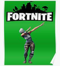Fortnite - Fortnite Dab Poster