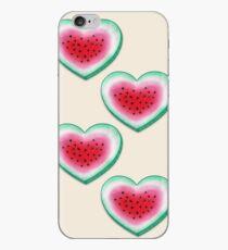 Summer Love - Watermelon Heart iPhone Case