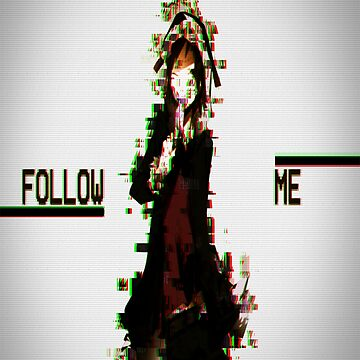 Glitch - Follow Me by mugendesigns