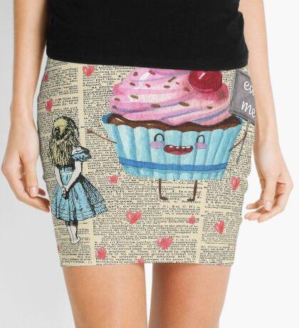 Alicia en el país de las maravillas - Eat Me - Página del diccionario de la vendimia Minifalda