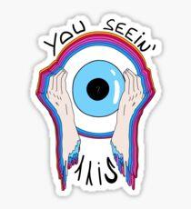 synesthesia Sticker