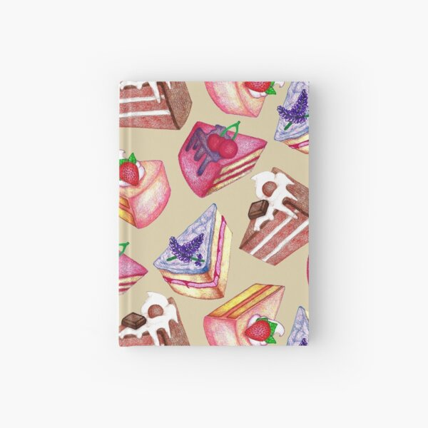 Piece of Cake  Hardcover Journal