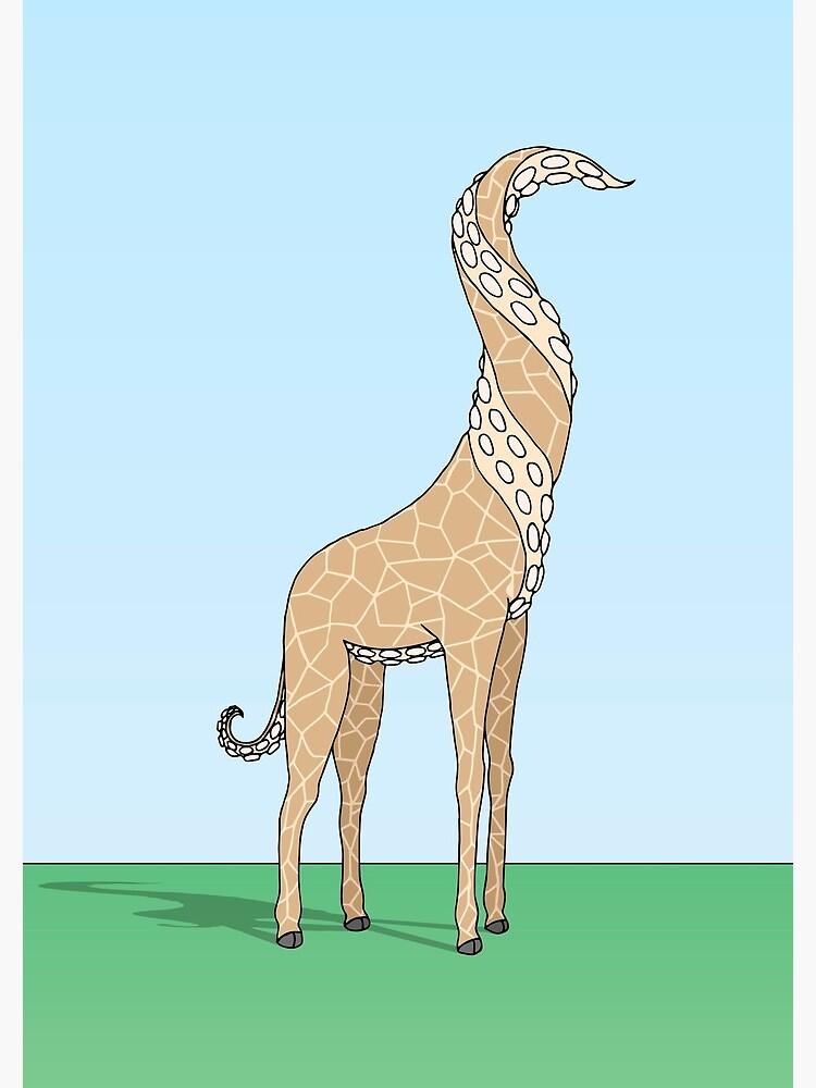 Regular Giraffe by bekome