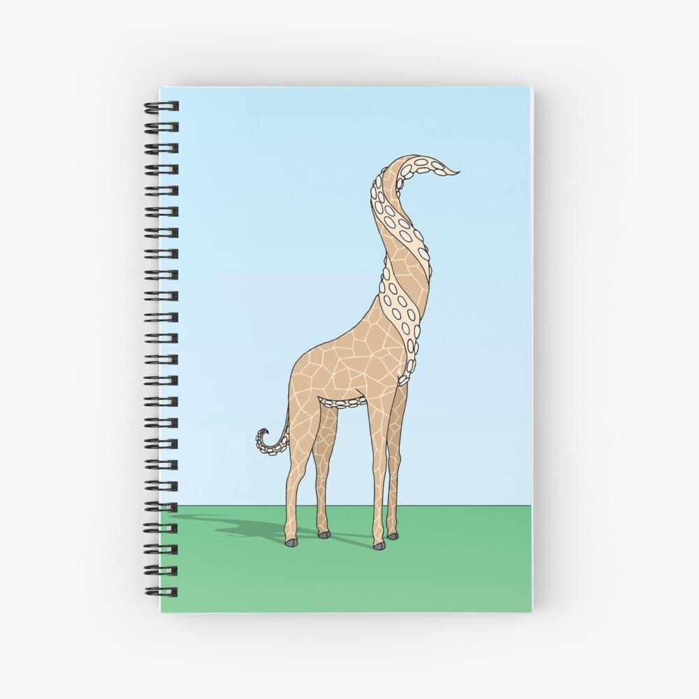 Regular Giraffe Spiral Notebook