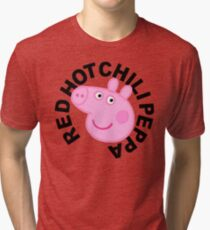 Red Hot Chilli Peppa Tri-blend T-Shirt