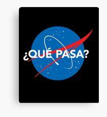 NASA Parody Logo Canvas Print