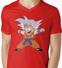 Ultra Instinct Kid Goku Men's V-Neck T-Shirt