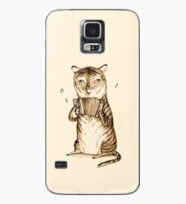 Accordion Tiger Case/Skin for Samsung Galaxy