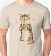 Accordion Tiger Unisex T-Shirt