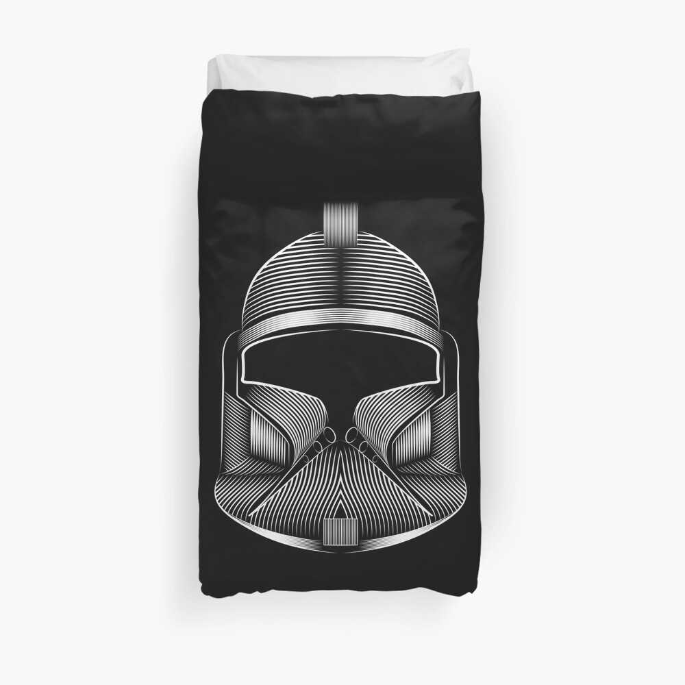 Clone soldier Duvet Cover
