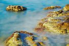 Sea Rocks and Sun by Patrick Morand