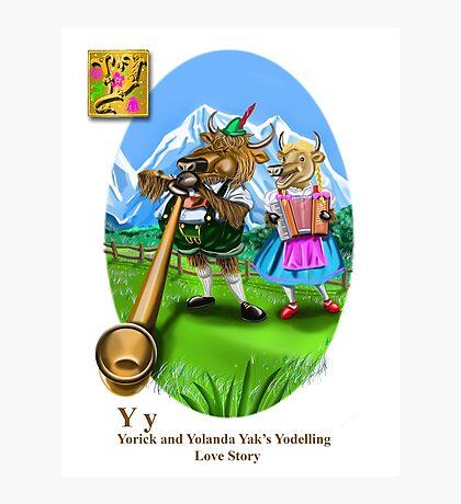 Yorrick and Yolander Photographic Print