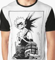 Katsuki Bakugo Graphic T-Shirt