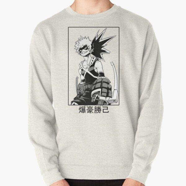 Katsuki Bakugo Pullover Sweatshirt