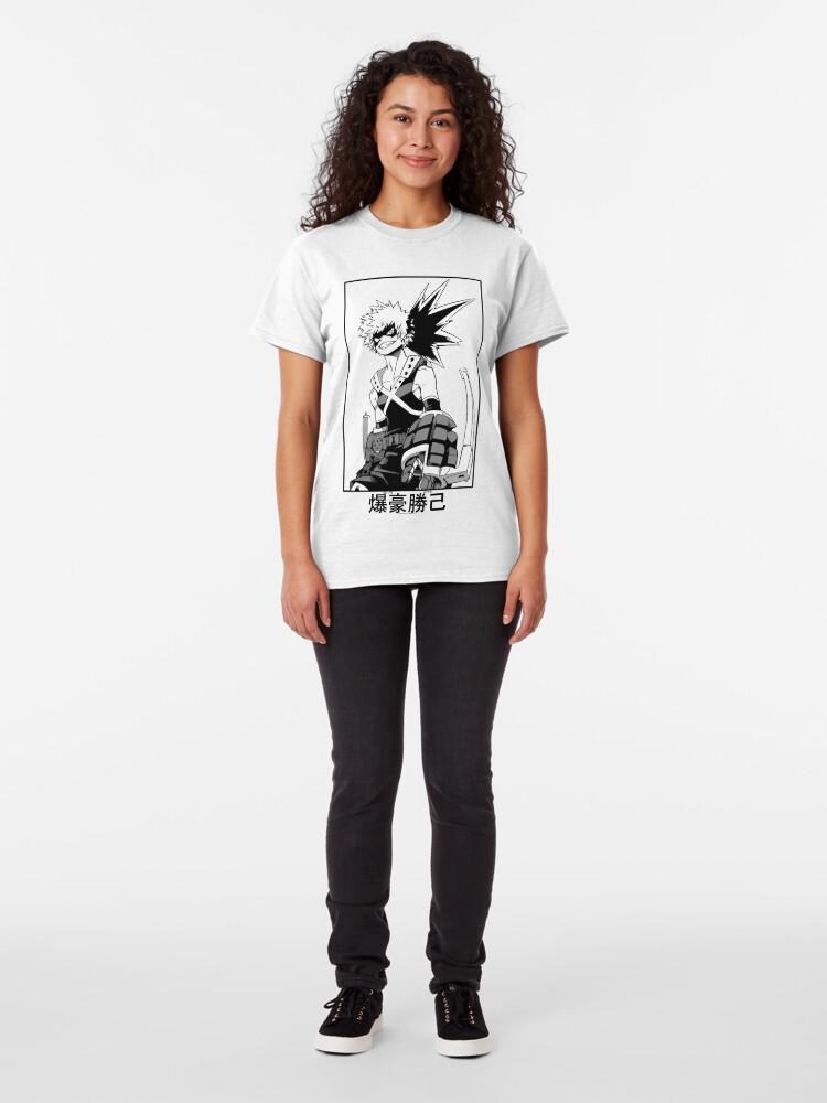 Alternative Ansicht von Katsuki Bakugo Classic T-Shirt