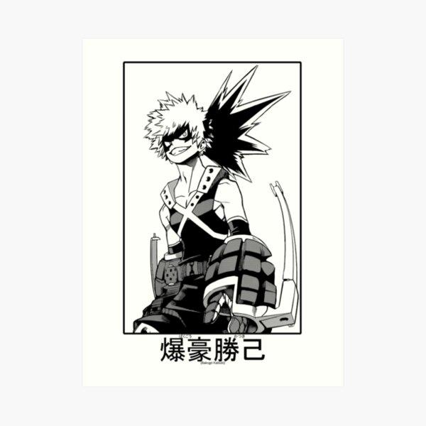 Katsuki Bakugo Art Print