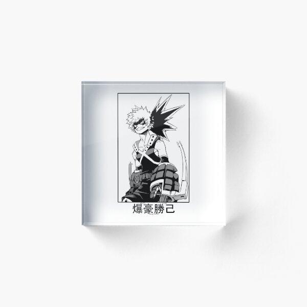 Katsuki Bakugo Acrylic Block