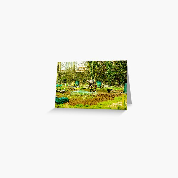 The Allotment Greeting Card