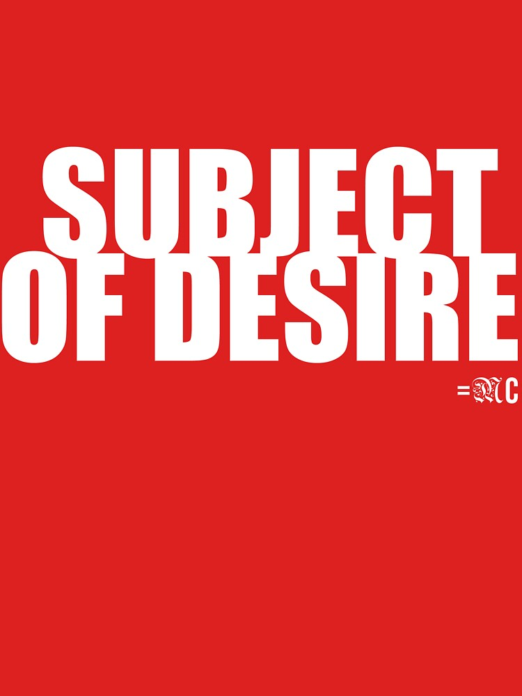 SUBJECT OF DESIRE tee, hoodie by MCANTO