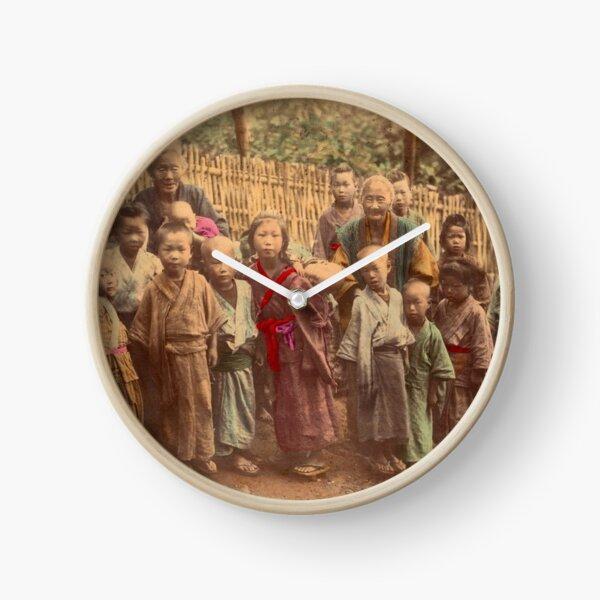 Japanese children Clock