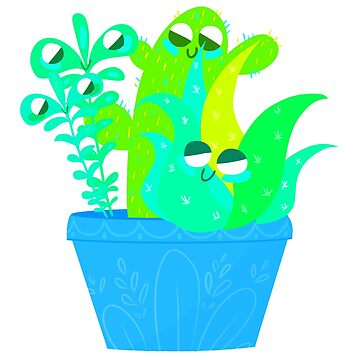 cacti by EleanorMorlino